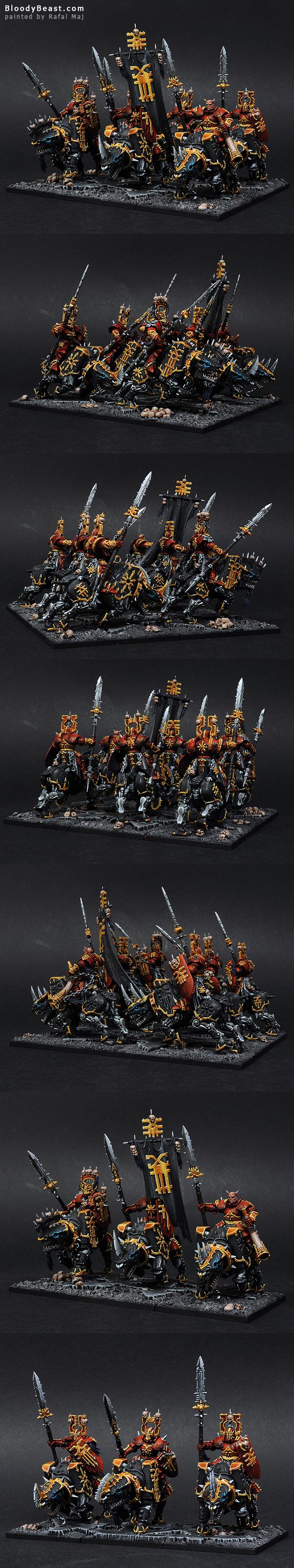 Skullcrushers of Khorne painted by Rafal Maj (BloodyBeast.com)
