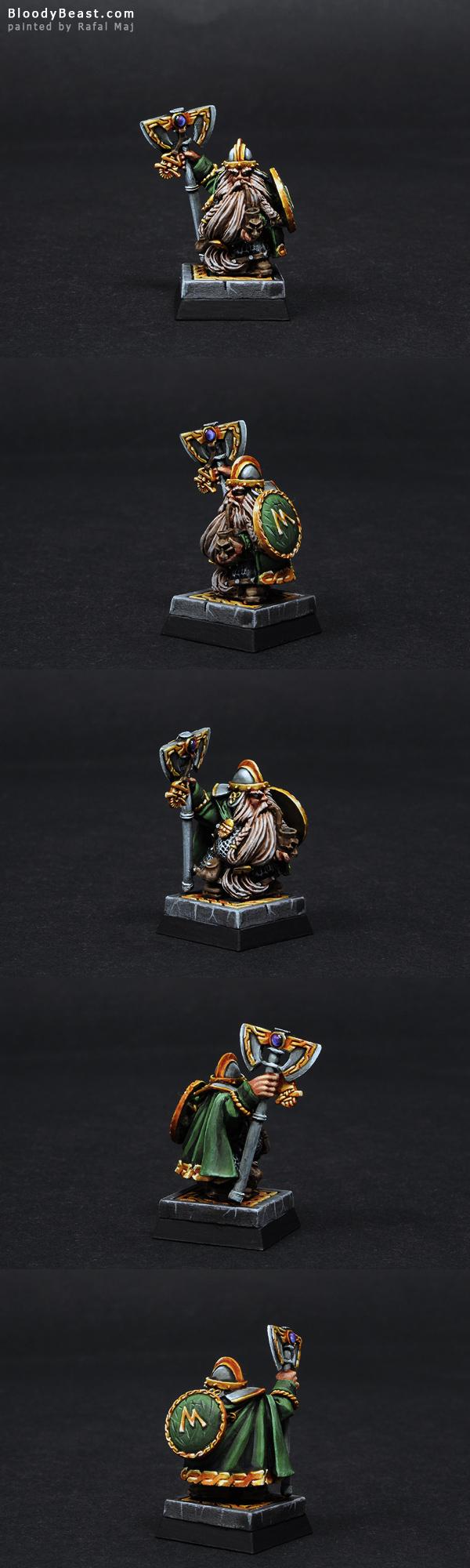 Dwarf Champion painted by Rafal Maj (BloodyBeast.com)