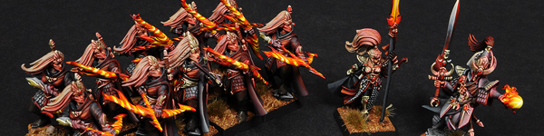 High Elves Warband