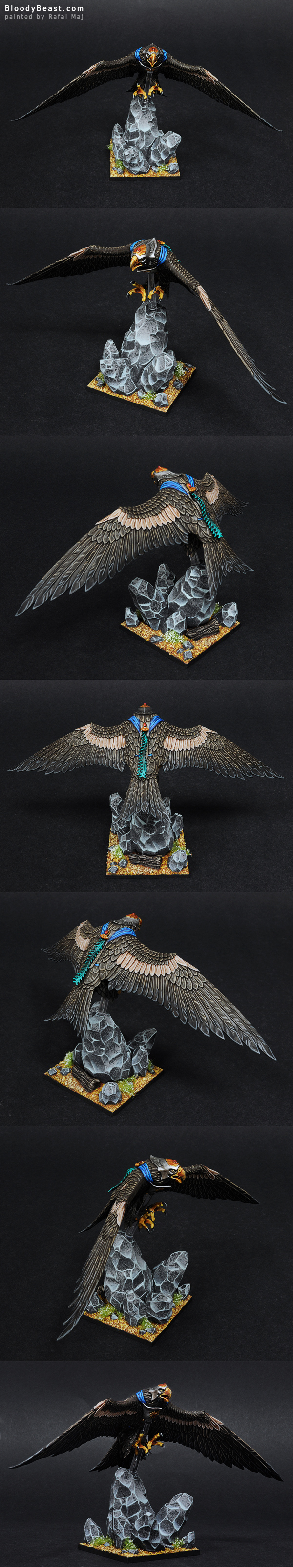 High Elf Great Eagle painted by Rafal Maj (BloodyBeast.com)