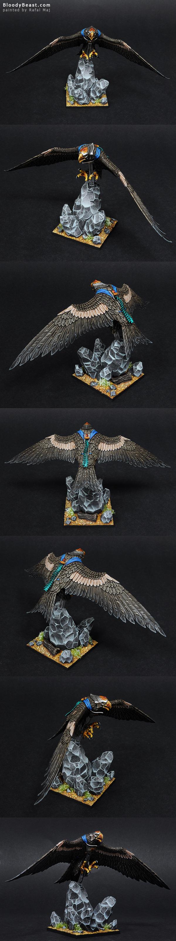 High Elf Great Eagle painted by Rafal Maj (BloodyBeast.com)