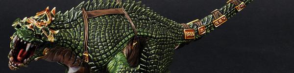 Lizardmen Carnosaur Grymloq