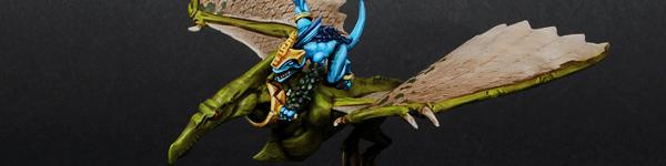 Lizardmen Terradon Rider