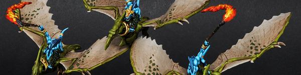 Lizardmen Terradon Riders