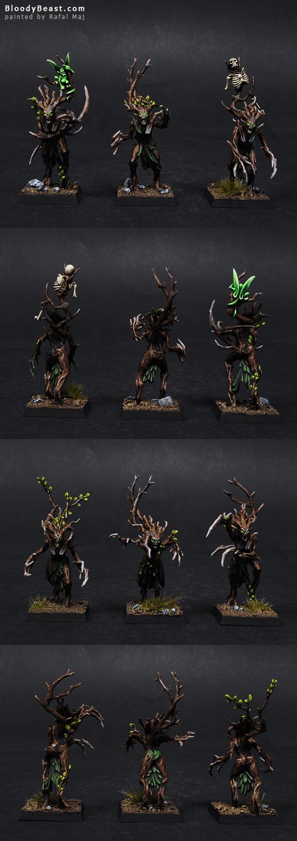 Wood Elf Dryads painted by Rafal Maj (BloodyBeast.com)