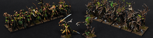 Wood Elves Warband