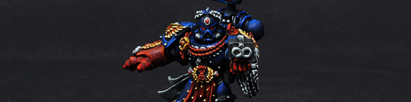 Space Marine Chapter Master Pedro Kantor