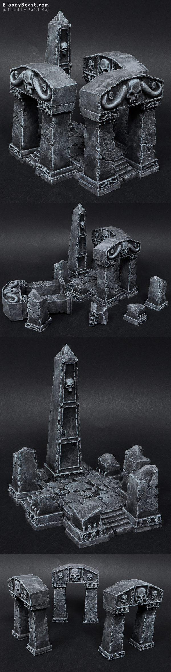 Arcane Ruins painted by Rafal Maj (BloodyBeast.com)