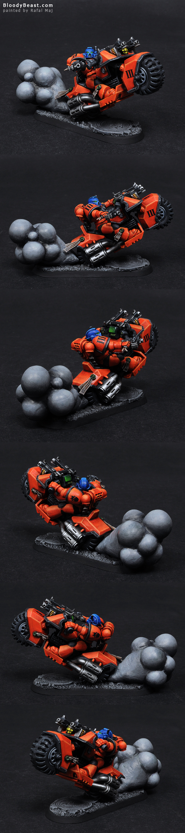 Astral Tiger Biker Sergeant painted by Rafal Maj (BloodyBeast.com)