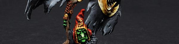 Night Goblin Battle Standard Bearer