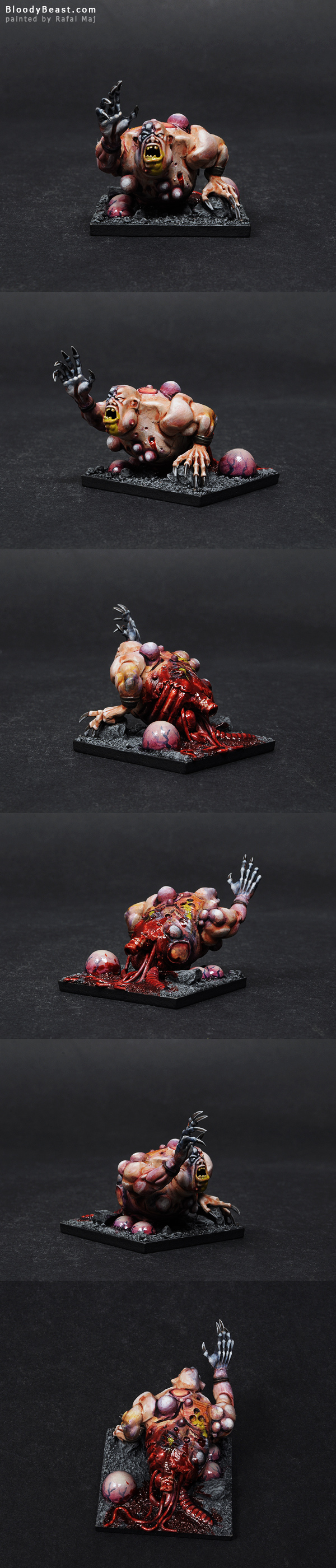 Nurgle Half Ogre painted by Rafal Maj (BloodyBeast.com)