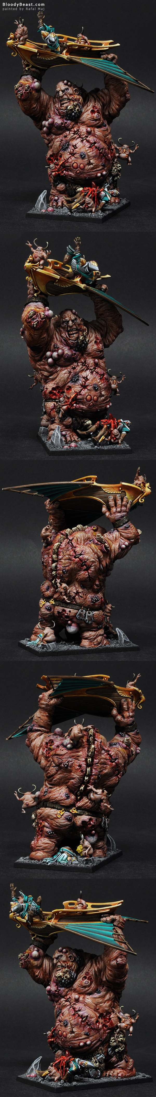 Nurgle Giant painted by Rafal Maj (BloodyBeast.com)