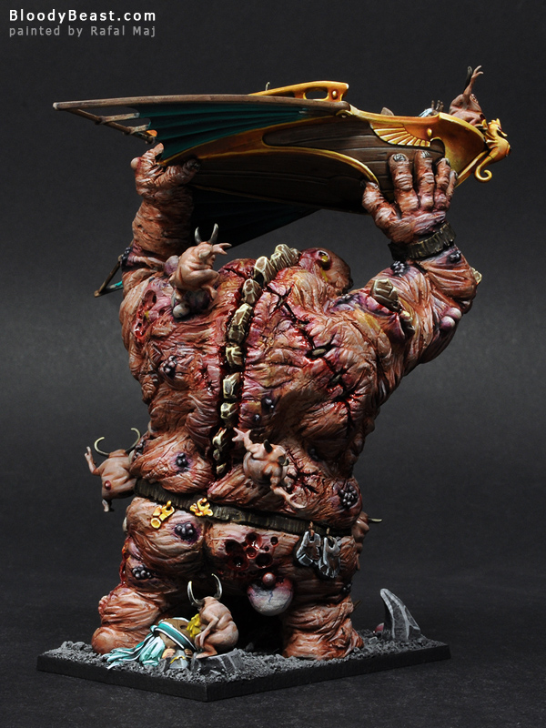 Chaos Giant with Mark of Nurgle Back painted by Rafal Maj (BloodyBeast.com)