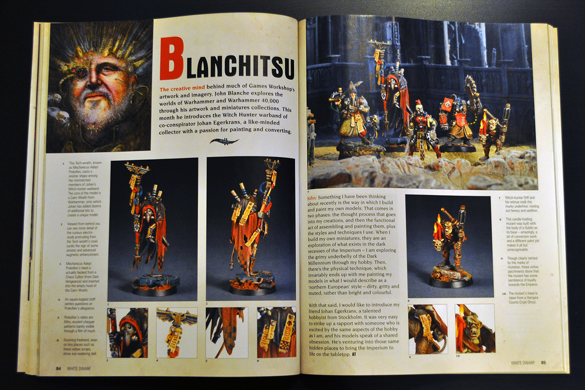 White Dwarf January 2014 Blanchitsu part 1 of 2
