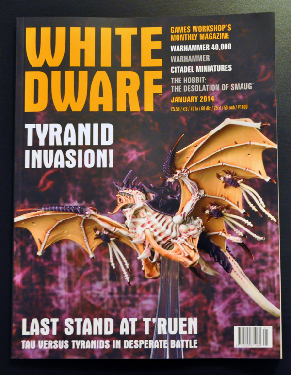 White Dwarf January 2014 Cover