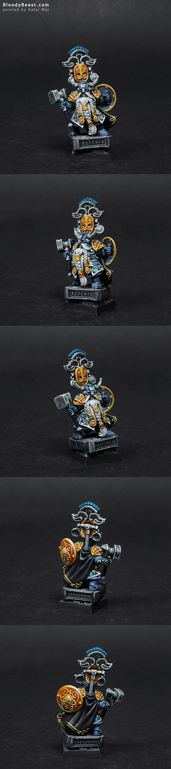 Dwarf Belegar Ironhammer painted by Rafal Maj (BloodyBeast.com)
