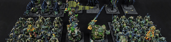 Chaos Daemons of Nurgle Army