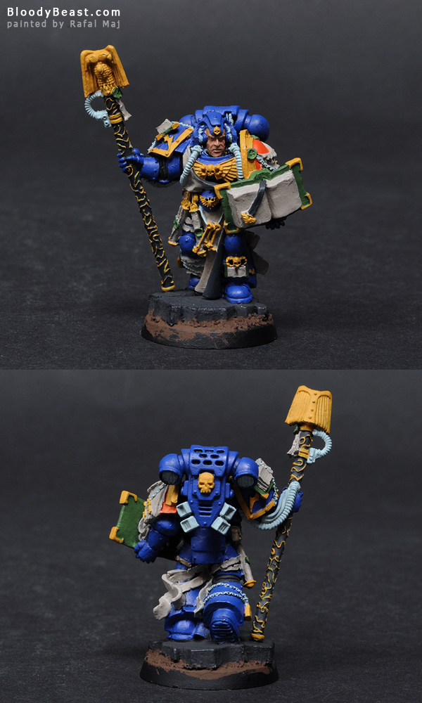 Painting Space Marines Librarian Tutorial (part 1 of 5)