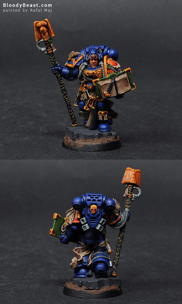 Painting Space Marines Librarian Tutorial (part 2 of 5)