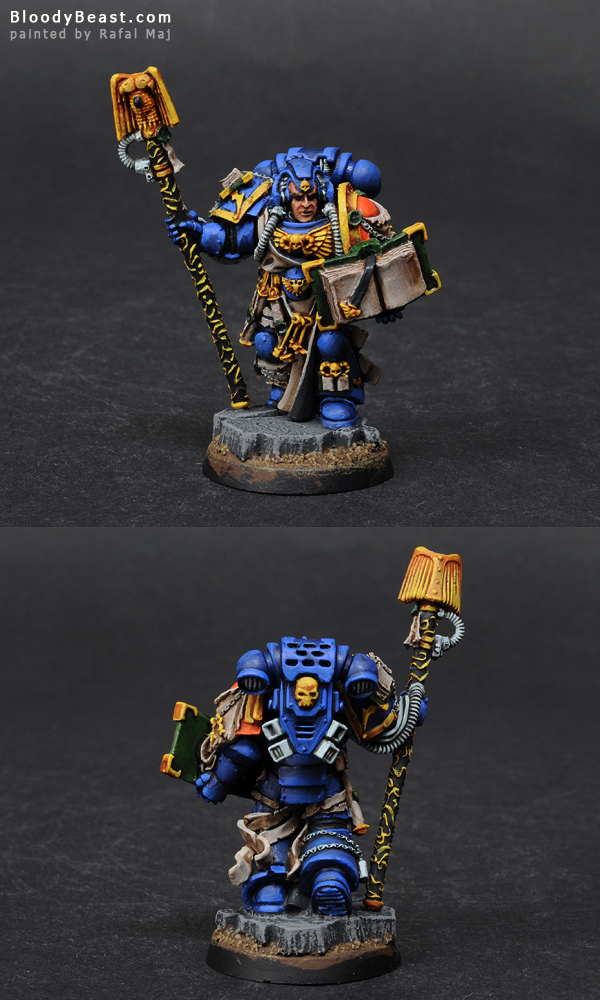 Painting Space Marines Librarian Tutorial (part 3 of 5)