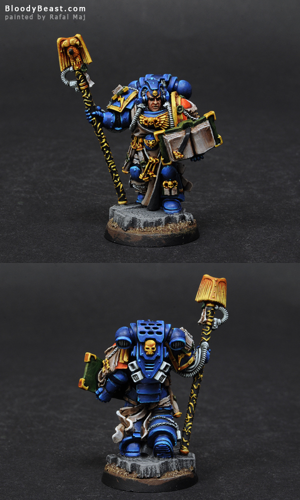 Painting Space Marines Librarian Tutorial (part 4 of 5)