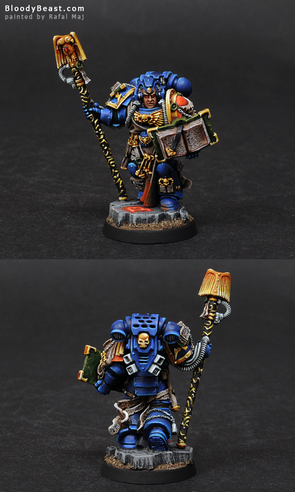 Painting Space Marines Librarian Tutorial (part 5 of 5)