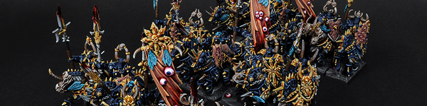 Chaos Knights of Tzeentch