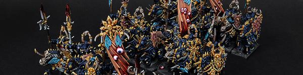 Chaos Knights of Tzeentch