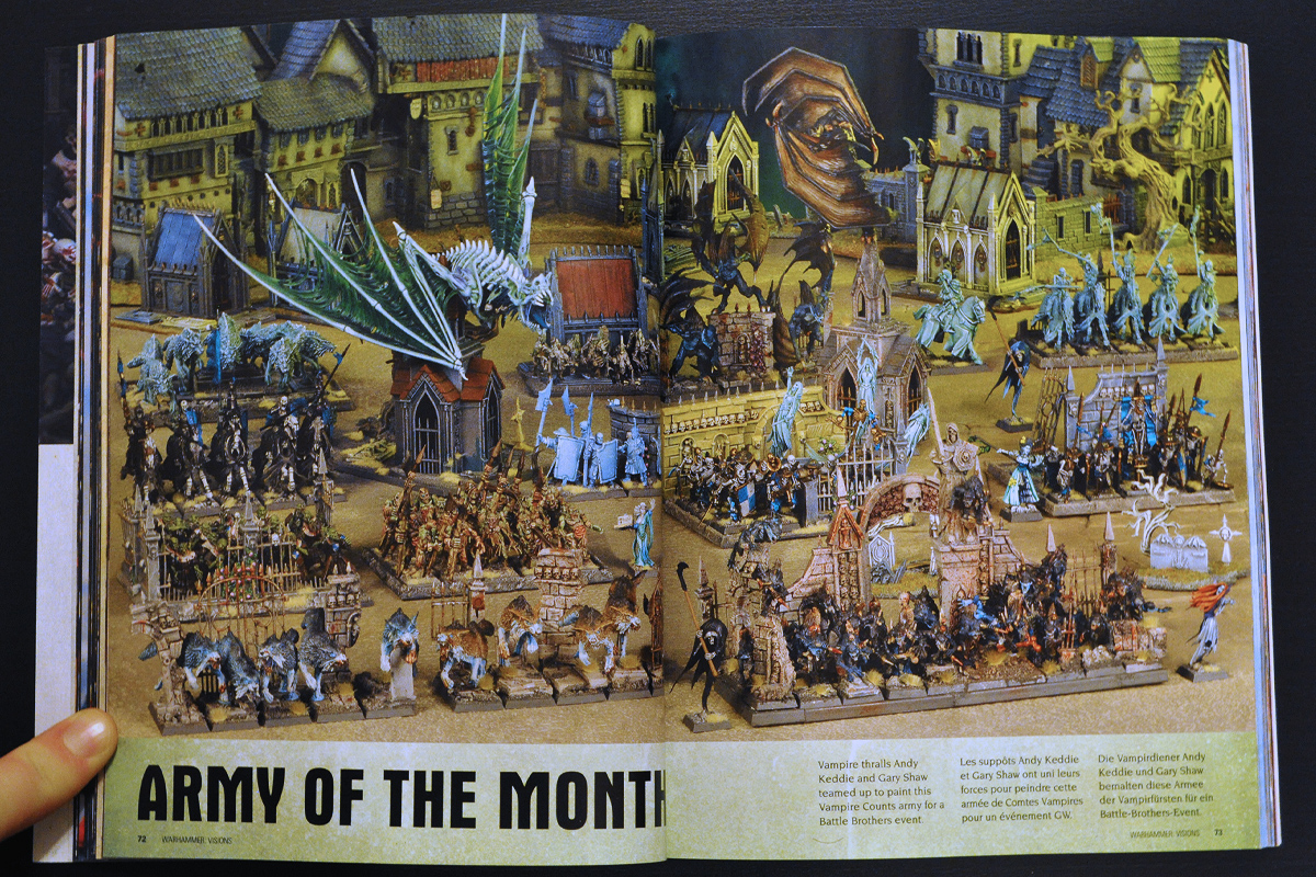 Warhammer Visions February 2014 Army of the Month