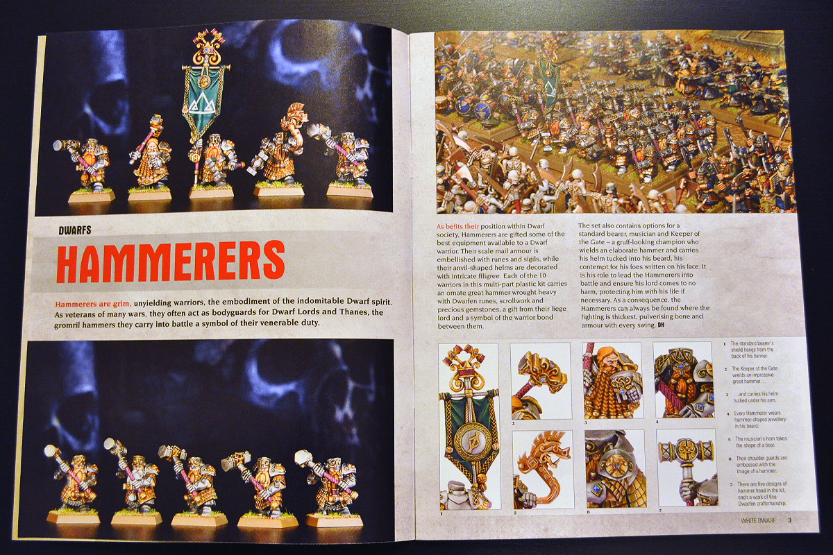 White Dwarf Ferbruary 2014 Week 1 New Dwarfs (part 1 of 4)