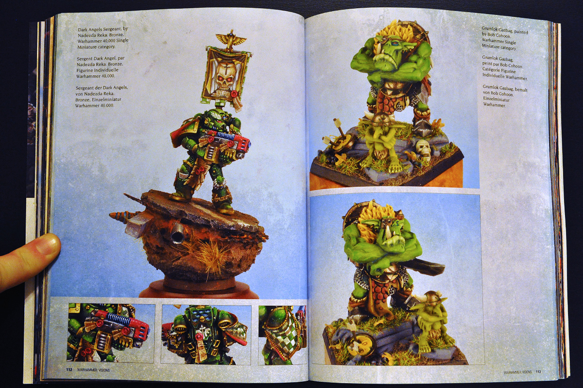 Warhammer Visions February 2014 Parade Ground