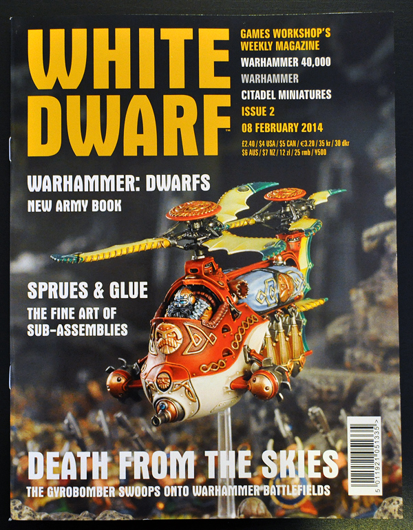 White Dwarf January 2014 Week 2 Cover