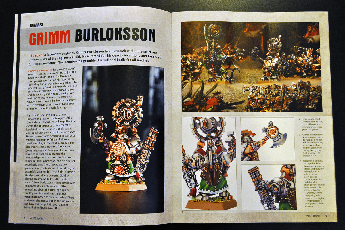 White Dwarf Ferbruary 2014 Week 2 New Dwarfs (part 4 of 4)