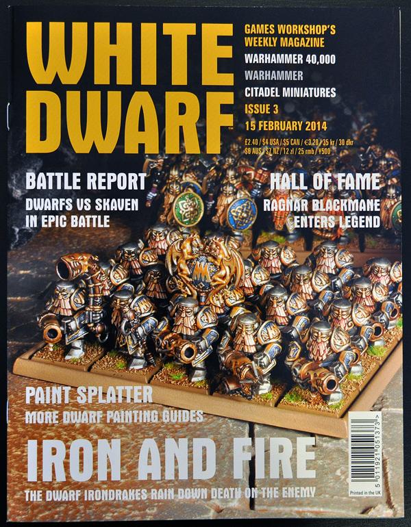 White Dwarf January 2014 Week 2 Cover