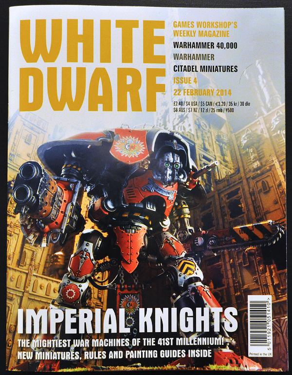 White Dwarf January 2014 Week 4 Cover