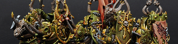 Chaos Knights of Nurgle