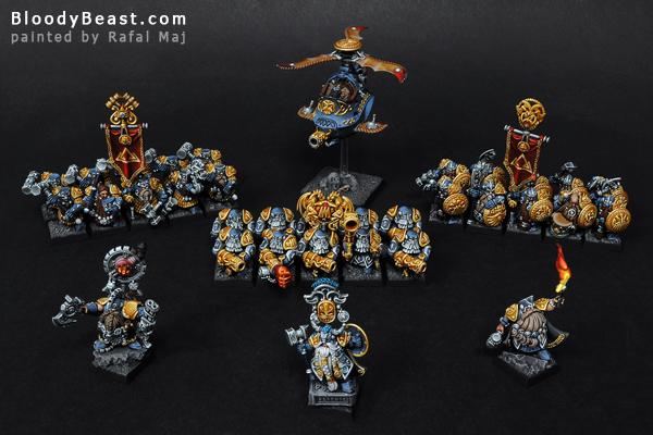 Dwarf Army painted by Rafal Maj