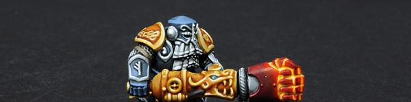 Dwarf Ironwarden with Trollhammer Torpedo
