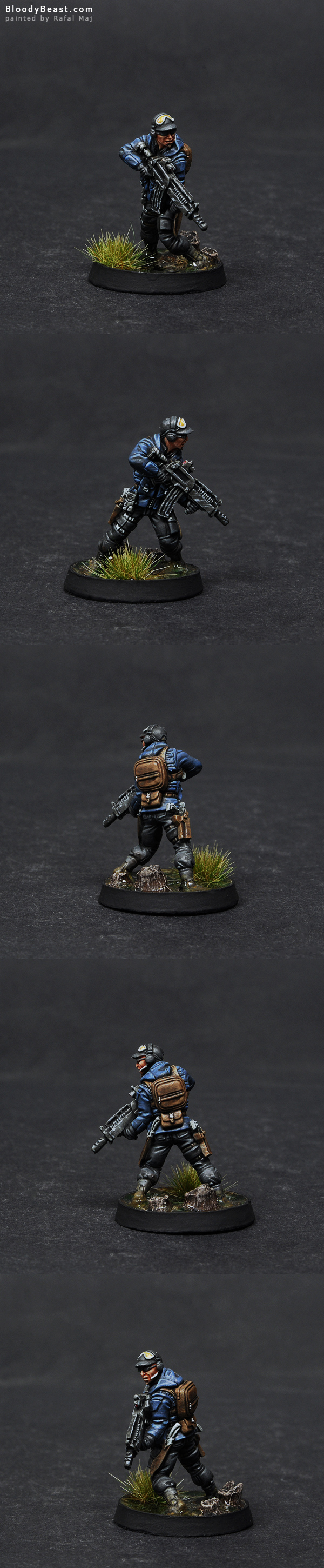 Ariadna Chasseurs Rifle painted by Rafal Maj (BloodyBeast.com)