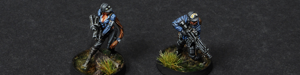 Infinity Ariadna Chasseurs Squad