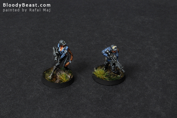 Ariadna Chasseurs Squad painted by Rafal Maj (BloodyBeast.com)
