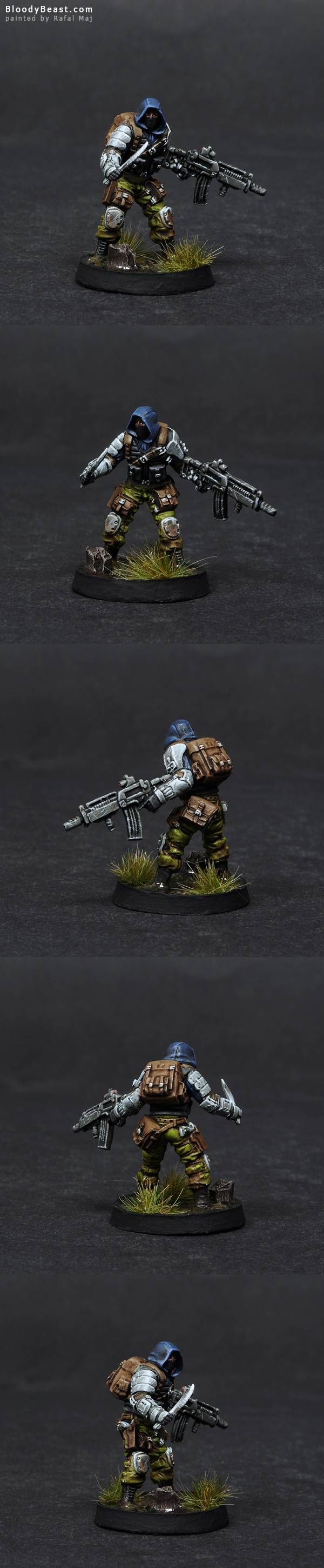 Ariadna Intel Spec-Op painted by Rafal Maj (BloodyBeast.com)