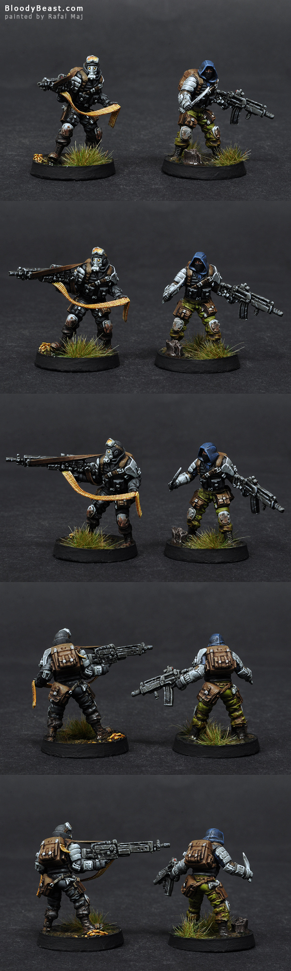 Ariadna Intel Spec Ops converted and painted by Rafal Maj (BloodyBeast.com)