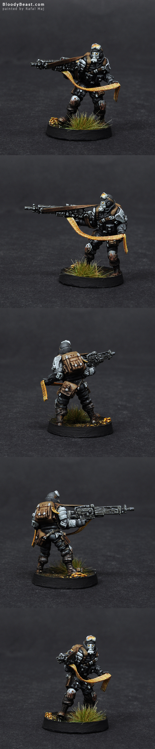 Ariadna Intel Spec-Op HMG painted by Rafal Maj (BloodyBeast.com)