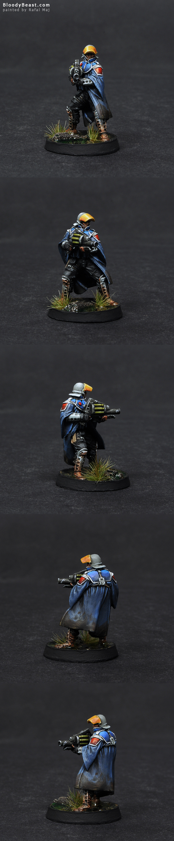 Ariadna Loup-Garous ADHL painted by Rafal Maj (BloodyBeast.com)