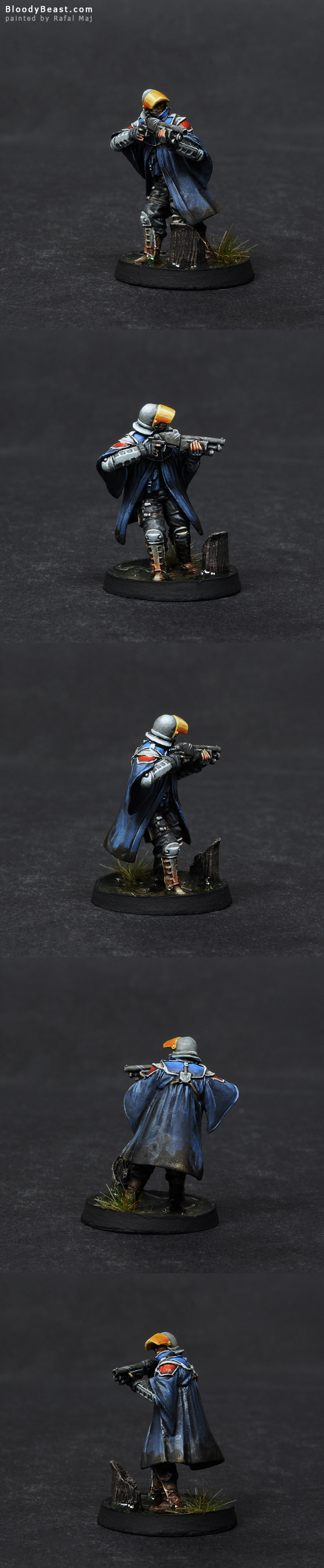 Ariadna Loup-Garous Boarding Shotgun painted by Rafal Maj (BloodyBeast.com)