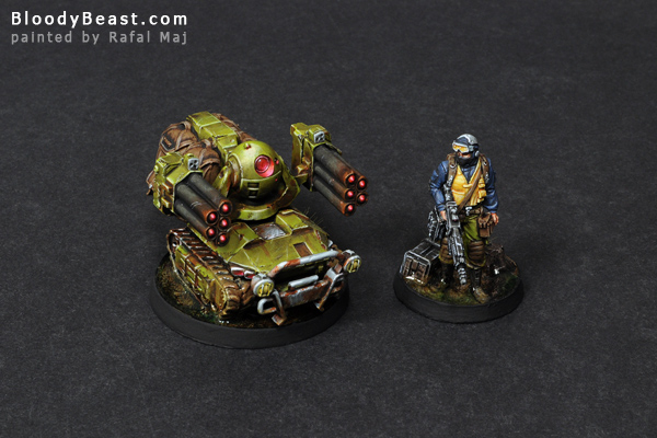 Ariadna Traktor Squad painted by Rafal Maj (BloodyBeast.com)