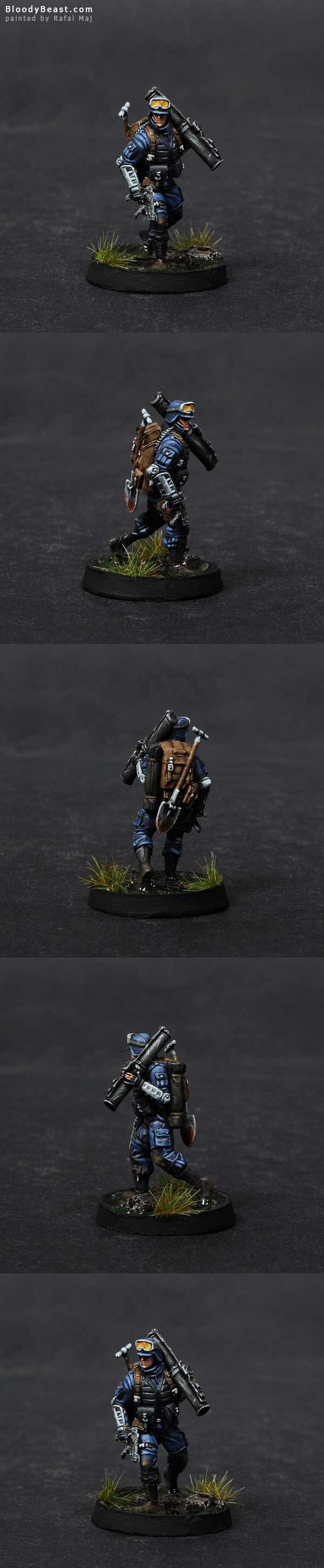 Ariadna Zouaves DEP painted by Rafal Maj (BloodyBeast.com)