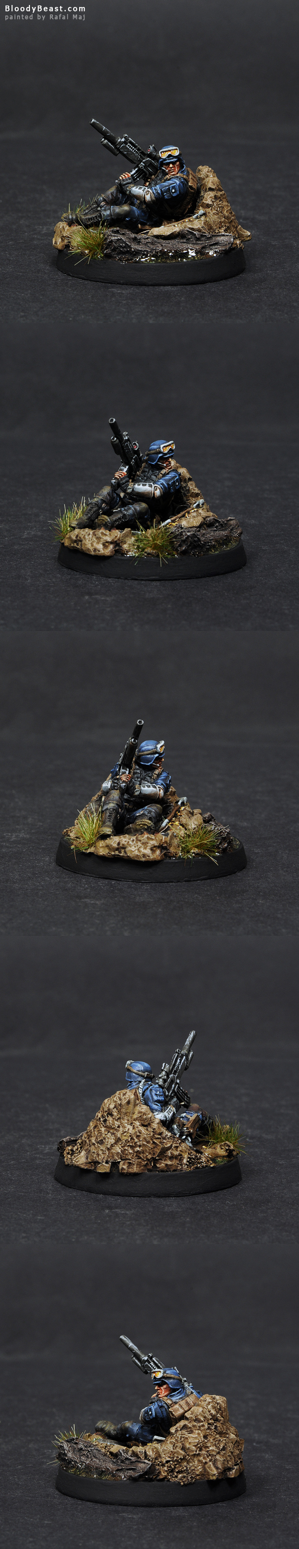 Ariadna Zouaves Sniper painted by Rafal Maj (BloodyBeast.com)