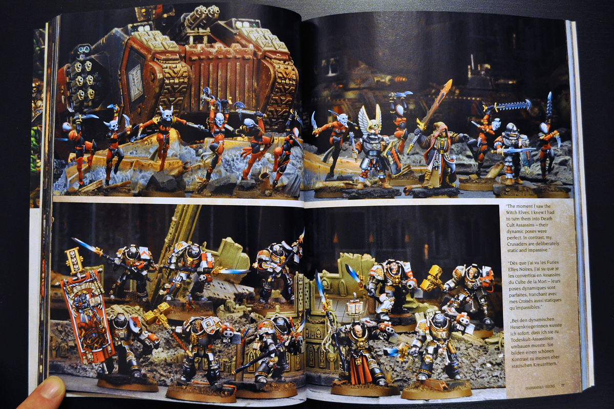 Warhammer Visions March 2014 Army of the Month